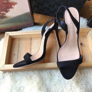 Shoes - ♥️♥️Schutz Black Suede Heels Size 7 ♥️♥️